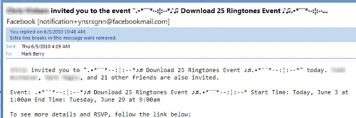 Facebook Scam 2