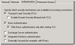 Exchange 2007 Anonymous Access 2