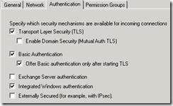 Exchange 2007 Anonymous Access 2