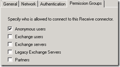 Exchange 2007 Anonymous Access 6