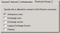 Exchange 2007 Anonymous Access 6