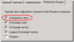 Exchange 2007 Anonymous Access 8
