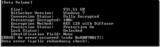 Bitlocker autounlock 1