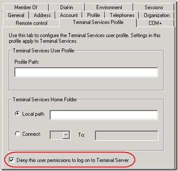 Disable Remote Access 1