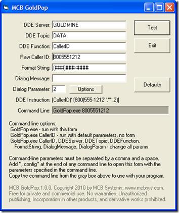 MCB GoldPop 1.0.0
