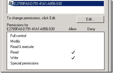 Hyper-V VHD Permissions GUI