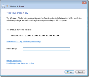 Windows 7 Activation 2