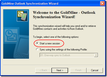 GoldMine Sync 2