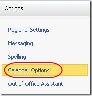Outlook Calendar control 2