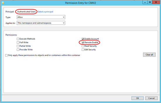 Remote WMI to a Workgroup Server 2008 R2 | MCB Systems