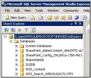 SQL SSEE 3