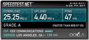 ISP Speed.Cox.DirectToComputer