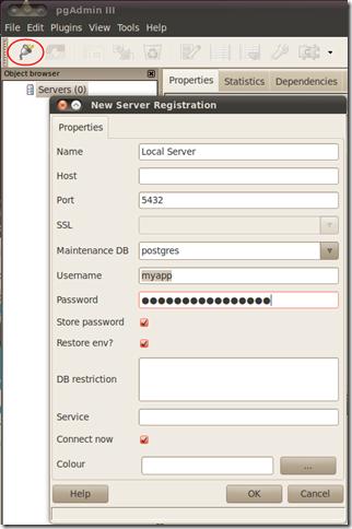 PostgreSQL pgAdmin