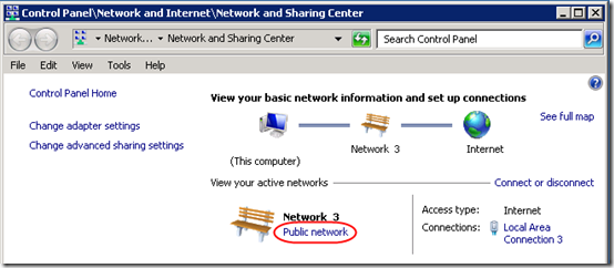 Change Network Type 1