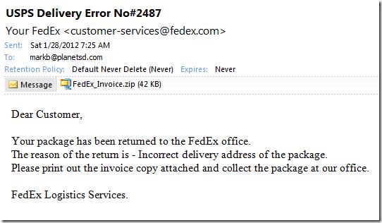 Fedex Virus 1