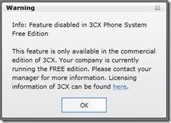 3CX License Activation 2