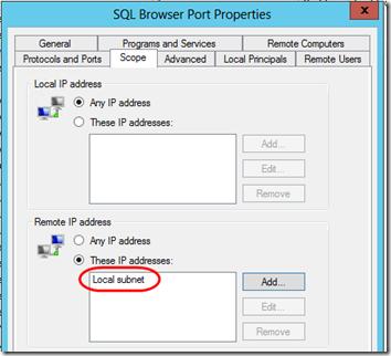 SQL Express Firewall 3