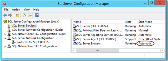 how to connect to sql server express