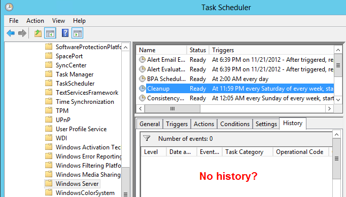 Server 2012 Essentials Client Backup Cleanup Not Running