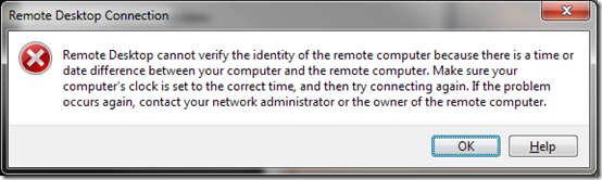 Remote Desktop Issue