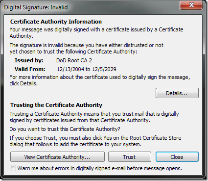 Secure Email Signatures in Outlook 2010 | MCB Systems