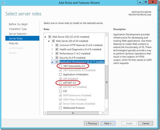 NET 2 under Server 2012 R2