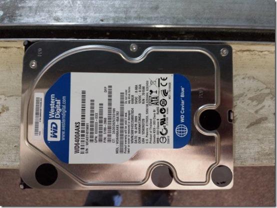 2013.12.12.Hard drive before shredding