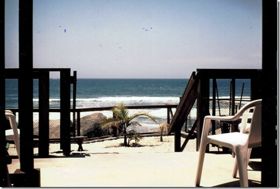 Oceanside Condo - View from Office