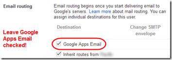 Google Apps Filtering 06