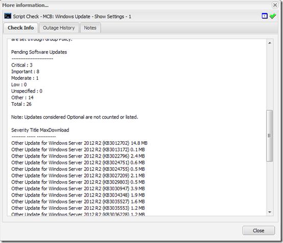 Show Windows Updates 2