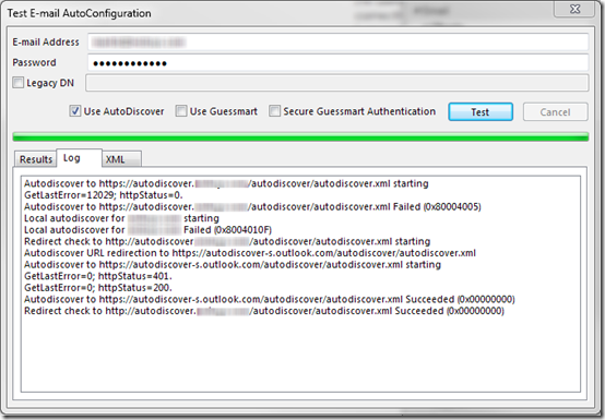 Outlook 2013 Slow Autodiscover with Office 365 | MCB Systems