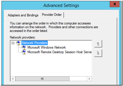 SBC server network adapter order 3