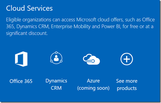 Azure for Nonprofits 1