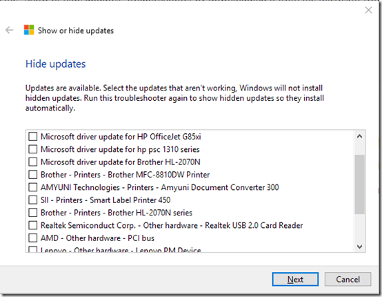 Windows 10 Does Not Show or Install Optional Updates | MCB