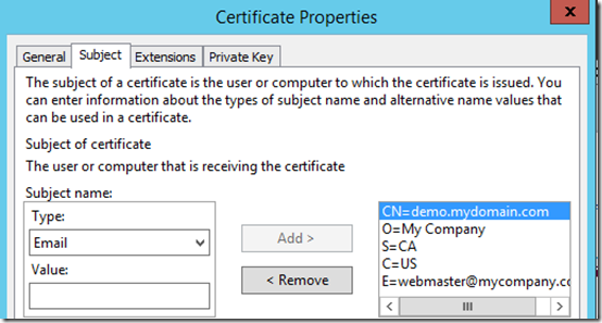 Generate an SSL Certificate Request without IIS | MCB Systems