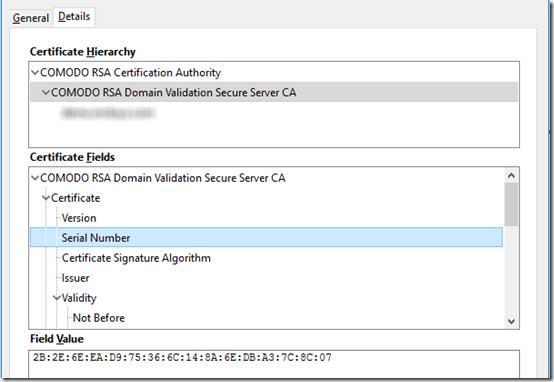 Comodo certificates 2