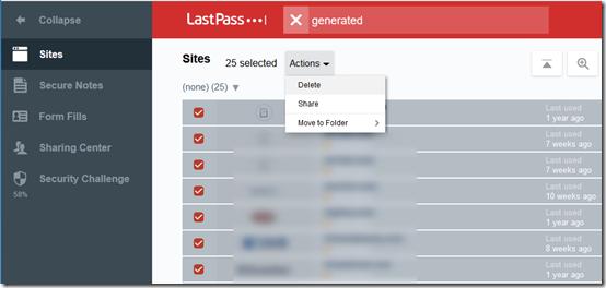 LastPass generated passwords 2