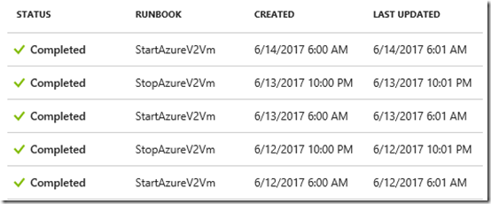 Azure Automation failure 2