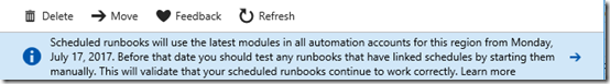Azure Automation failure 7