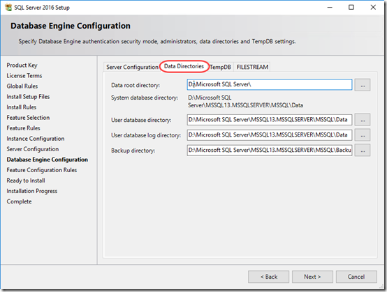 install sql server 2016 on windows 10