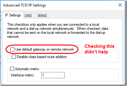 DNS and VPN 1