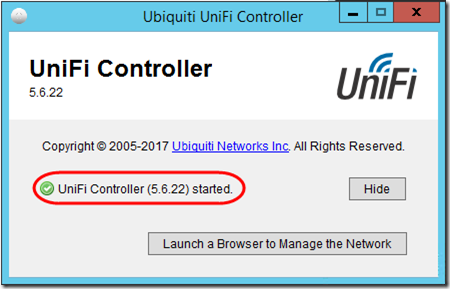 Upgrade UniFi Controller