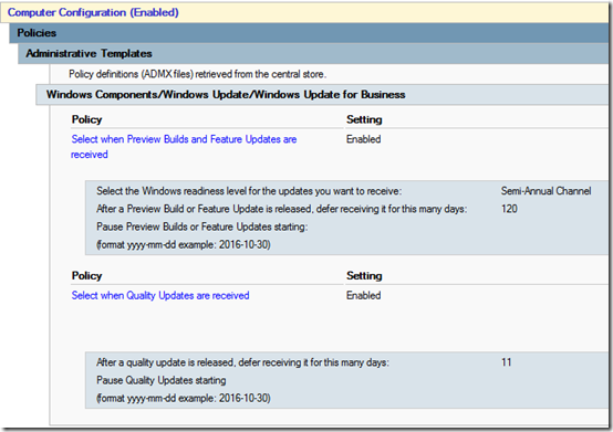 Managing Windows 10 Updates Using Group Policy | MCB Systems
