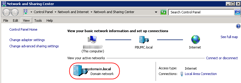 Network Location Awareness Doesn't Identify Domain | MCB Systems