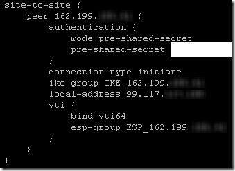 USG to ER-X VPN 2