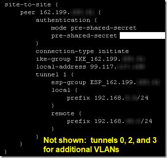 USG to ER-X VPN 3