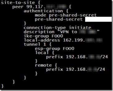 USG to ER-X VPN 4