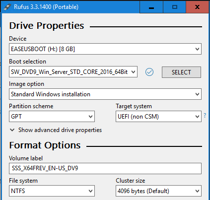 Create a Secure-Bootable UEFI USB Drive | MCB Systems