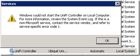Run UniFi Controller As a Service on AdoptOpenJDK | MCB Systems