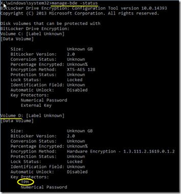 KB4505821 Bitlocker Error 06